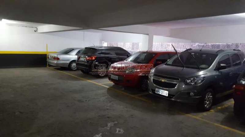 vagas de garagem - Apartamento 2 quartos à venda Flamengo, Rio de Janeiro - R$ 885.000 - GIAP21078 - 17