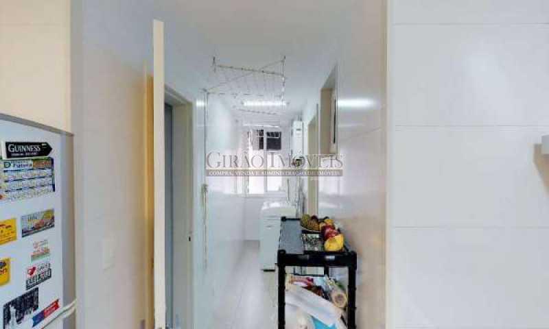 ÁREA DE SERVIÇO - Apartamento À Venda - Gávea - Rio de Janeiro - RJ - GIAP31362 - 20