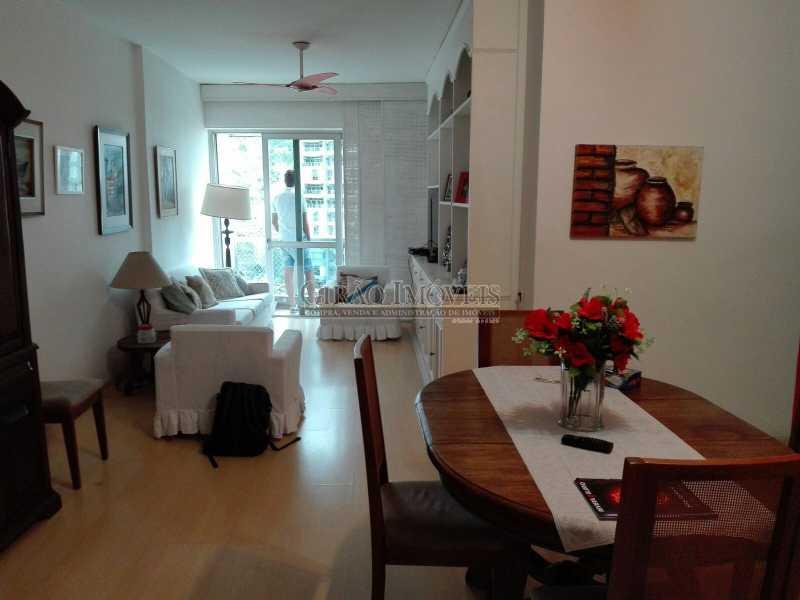 2 - Apartamento à venda Estrada da Gávea,São Conrado, Rio de Janeiro - R$ 650.000 - GIAP21172 - 3