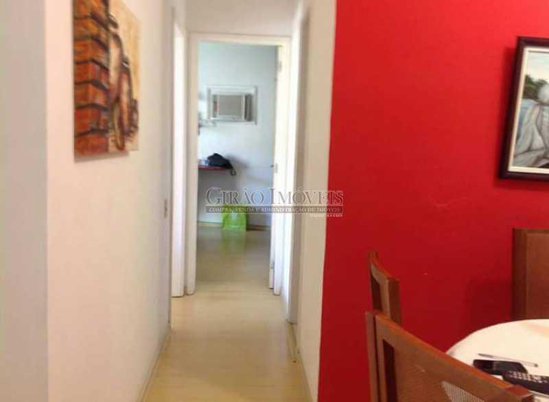 7 - Apartamento à venda Estrada da Gávea,São Conrado, Rio de Janeiro - R$ 650.000 - GIAP21172 - 8