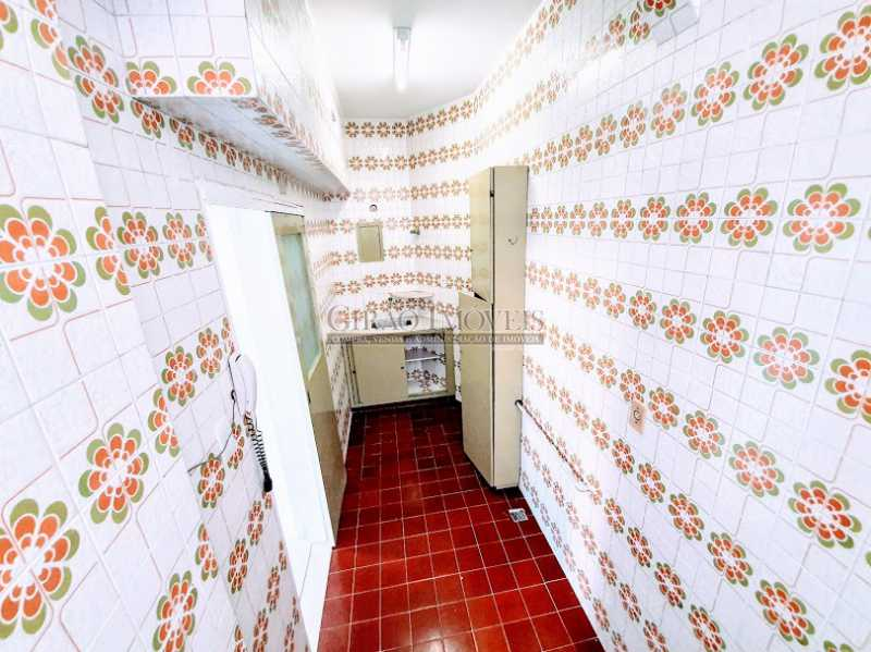 COZINHA - Apartamento 1 quarto para alugar Copacabana, Rio de Janeiro - R$ 1.600 - GIAP10648 - 8