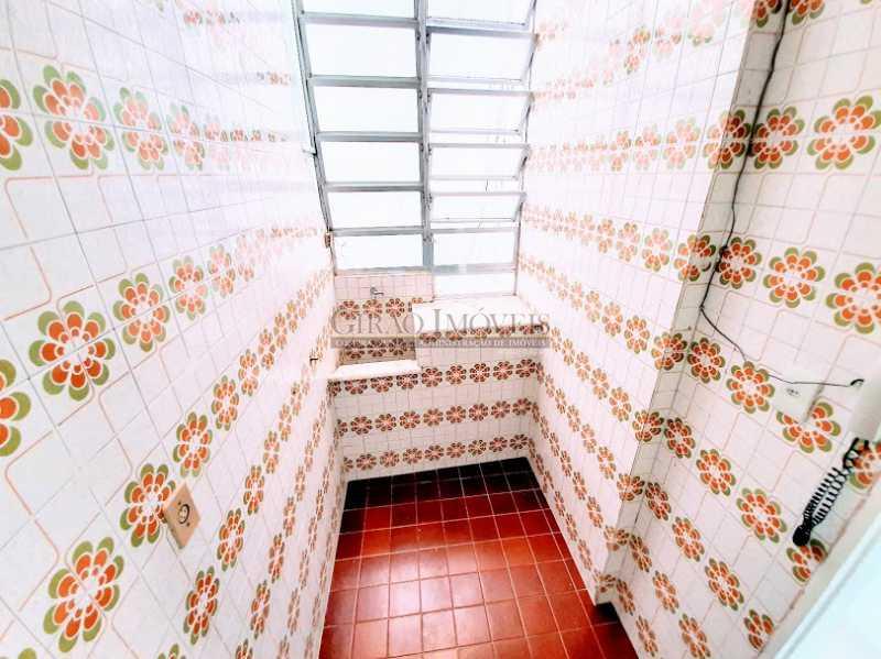 ÁREA DE SERVIÇO - Apartamento 1 quarto para alugar Copacabana, Rio de Janeiro - R$ 1.600 - GIAP10648 - 9