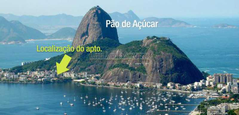 1 - Apartamento à venda Urca, Rio de Janeiro - R$ 530.000 - GIAP00130 - 1