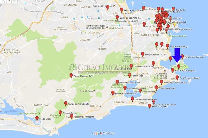 apto101_turismo_01 - Apartamento à venda Urca, Rio de Janeiro - R$ 530.000 - GIAP00130 - 7
