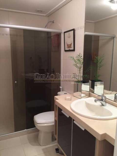 banheiro social - Cobertura 4 quartos à venda Piratininga, Niterói - R$ 3.300.000 - GICO40074 - 12
