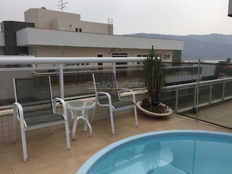 piscina3 - Cobertura 4 quartos à venda Piratininga, Niterói - R$ 3.300.000 - GICO40074 - 5