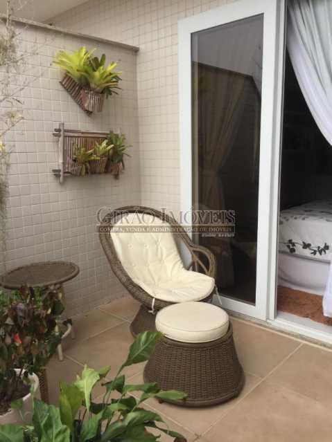 varanda - Cobertura 4 quartos à venda Piratininga, Niterói - R$ 3.300.000 - GICO40074 - 30