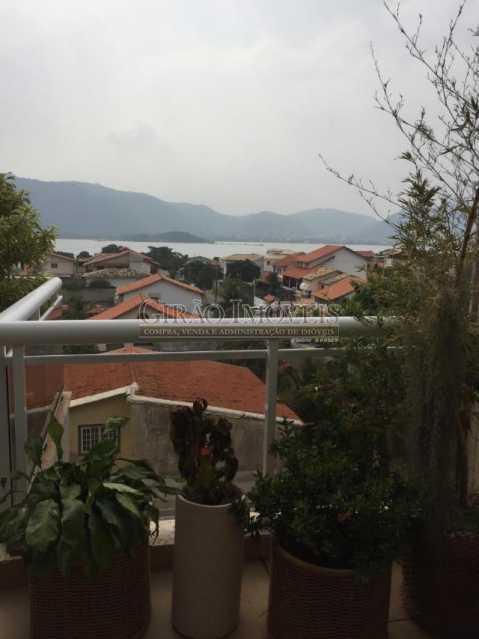 vista lagoa - Cobertura 4 quartos à venda Piratininga, Niterói - R$ 3.300.000 - GICO40074 - 11
