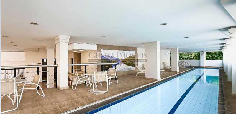 PISCINA - Apartamento à venda Rua das Laranjeiras,Laranjeiras, Rio de Janeiro - R$ 580.000 - GIAP10652 - 3