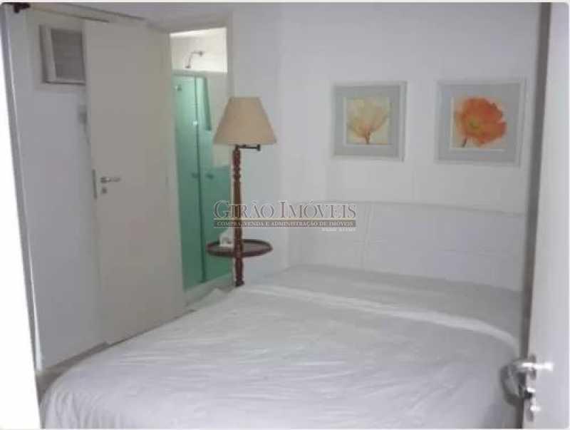 QUARTO - Apartamento à venda Rua das Laranjeiras,Laranjeiras, Rio de Janeiro - R$ 580.000 - GIAP10652 - 7