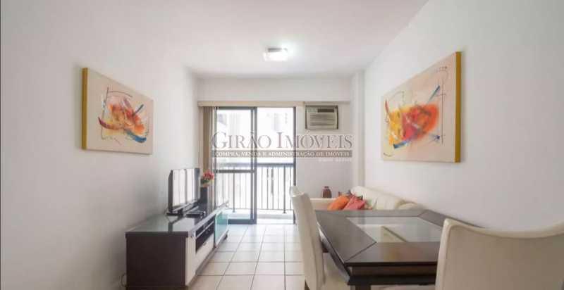 SALA - Apartamento à venda Rua das Laranjeiras,Laranjeiras, Rio de Janeiro - R$ 580.000 - GIAP10652 - 8