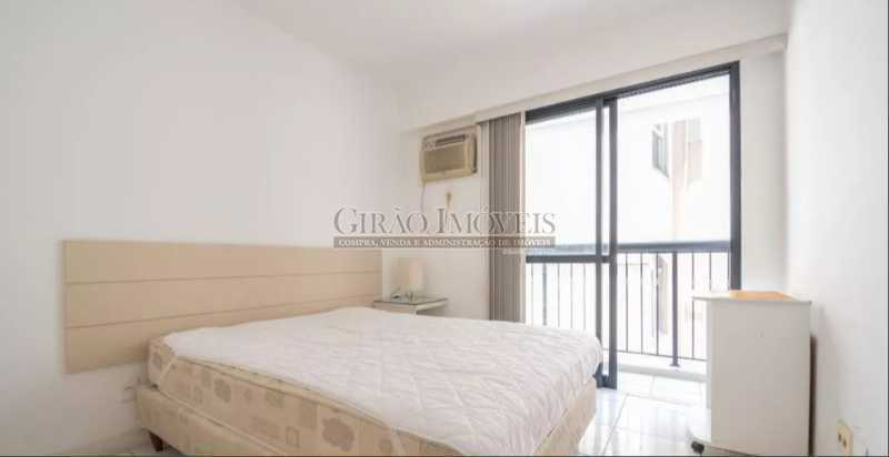 QUARTO, - Apartamento à venda Rua das Laranjeiras,Laranjeiras, Rio de Janeiro - R$ 580.000 - GIAP10652 - 10