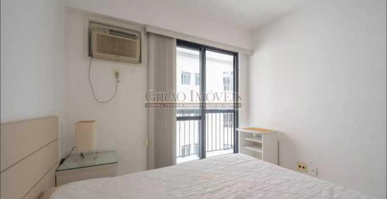 QUARTO,; - Apartamento à venda Rua das Laranjeiras,Laranjeiras, Rio de Janeiro - R$ 580.000 - GIAP10652 - 11