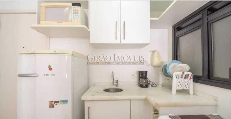 COZINHA; - Apartamento à venda Rua das Laranjeiras,Laranjeiras, Rio de Janeiro - R$ 580.000 - GIAP10652 - 15