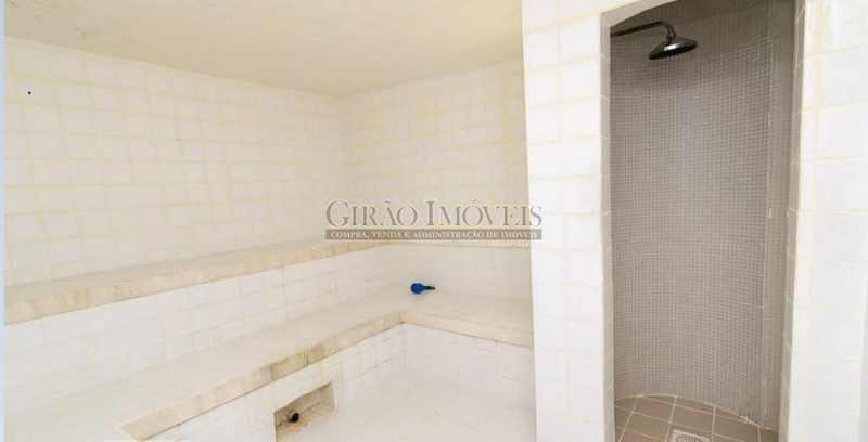 SAUNA - Apartamento à venda Rua das Laranjeiras,Laranjeiras, Rio de Janeiro - R$ 580.000 - GIAP10652 - 17