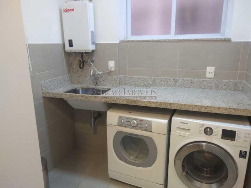 19 - Apartamento para venda e aluguel Rua Barão da Torre,Ipanema, Rio de Janeiro - R$ 1.100.000 - GIAP21236 - 26