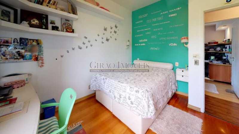 2 - Vista espetacular para mar de Botafogo e verde, 03 quartos (01 suíte) e vaga de garagem. - GIAP31487 - 3