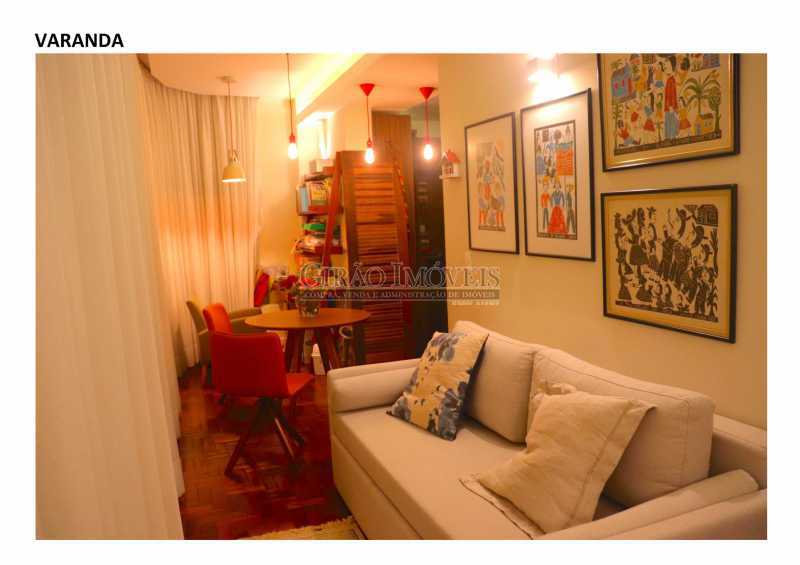3 - 04 quartos em Laranjeiras, sendo um deles suíte, dependências completas, 01 vaga de garagem - GIAP40351 - 4