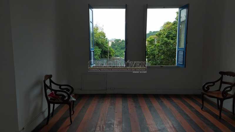 7 - Excelente casa em Laranjeiras, tombada pelo decreto de César Maia(1997), 03 quartos, servindo para moradia ou comércio. - GICA30017 - 8