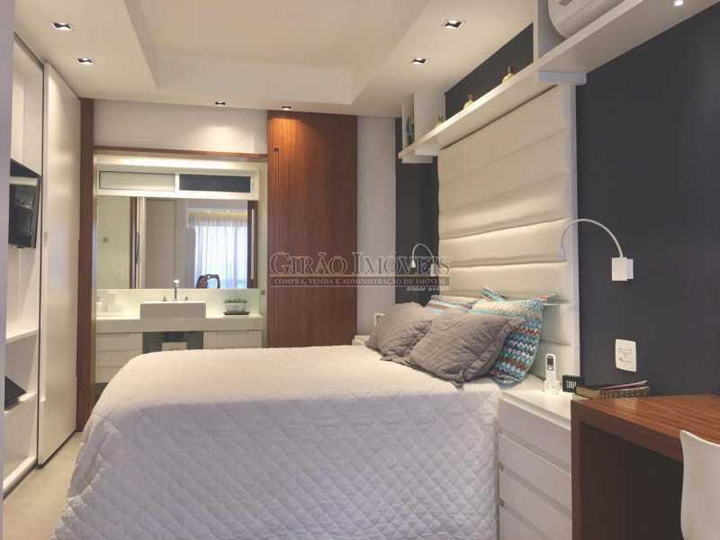 6 - Apartamento frontal Lagoa, vista cinematográfica, 03 quartos(01 suíte), dependências completas, 01 vaga de garagem na escritura. - GIAP31510 - 11