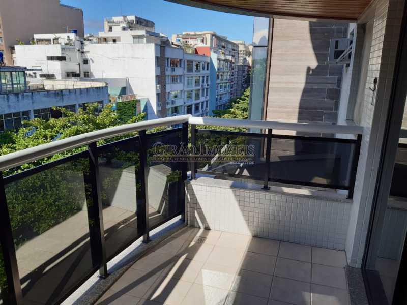 1 - Apart-Hotel, com 55m², todo mobiliado, juntinho ao Arpoador, sala e quarto com 01 vaga de garagem. - GIFL10049 - 1