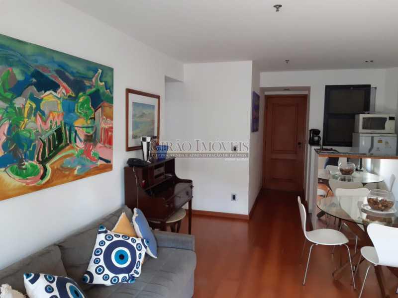 1b - Apart-Hotel, com 55m², todo mobiliado, juntinho ao Arpoador, sala e quarto com 01 vaga de garagem. - GIFL10049 - 5
