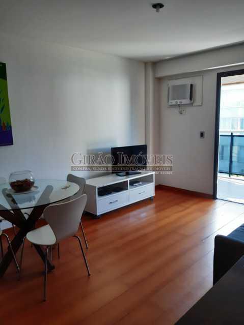 4 - Apart-Hotel, com 55m², todo mobiliado, juntinho ao Arpoador, sala e quarto com 01 vaga de garagem. - GIFL10049 - 7