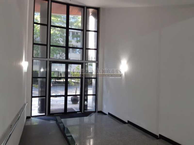 6 - Apart-Hotel, com 55m², todo mobiliado, juntinho ao Arpoador, sala e quarto com 01 vaga de garagem. - GIFL10049 - 9