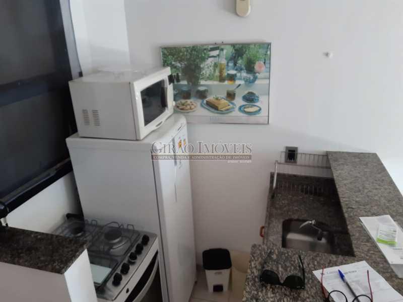 11 - Apart-Hotel, com 55m², todo mobiliado, juntinho ao Arpoador, sala e quarto com 01 vaga de garagem. - GIFL10049 - 15