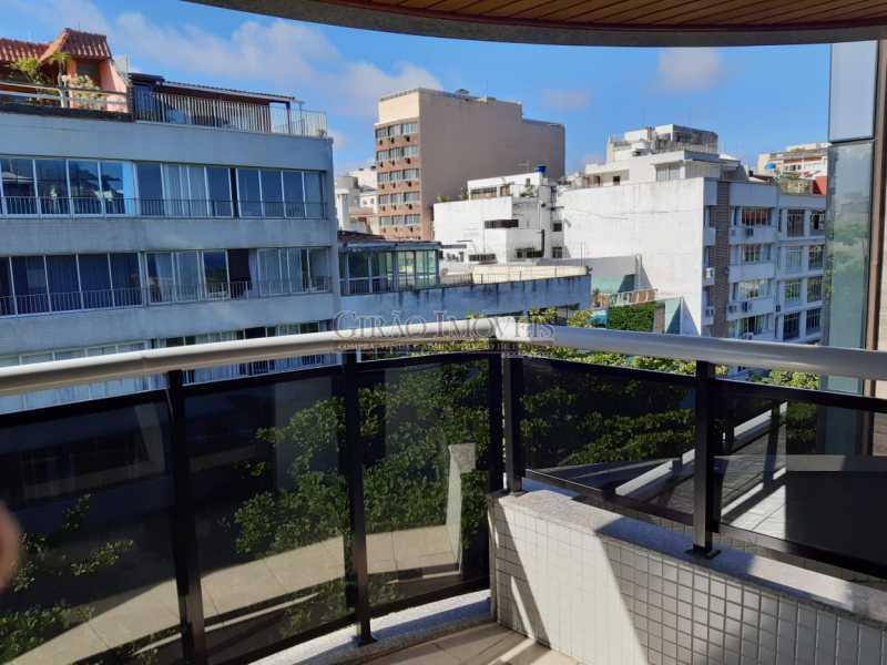 14 - Apart-Hotel, com 55m², todo mobiliado, juntinho ao Arpoador, sala e quarto com 01 vaga de garagem. - GIFL10049 - 18