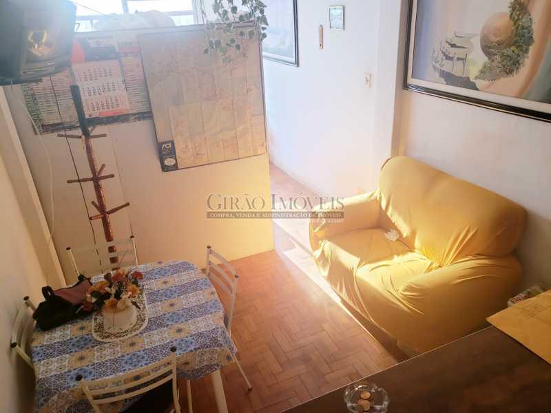 1 - Conjugadão dividido em quarto e sala na quadra da praia, próximo ao metrô. - GIKI00315 - 1