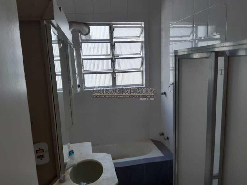 13 - 02 quartos no Flamengo, silencioso, arejado, próximo ao metrô, comércio no entorno, portaria 24 horas. - GIAP21310 - 12