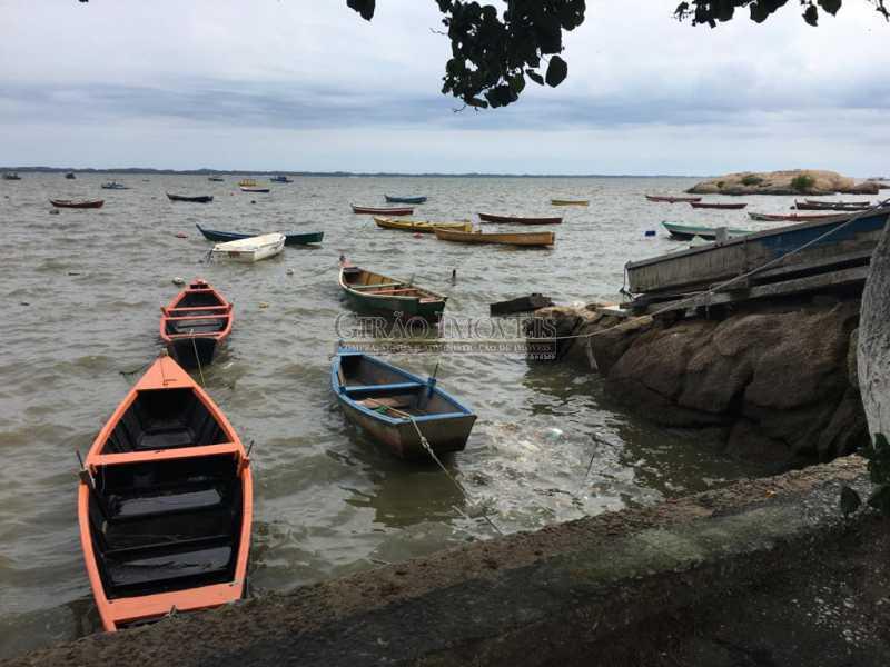 fundos - vista mar - Pousada na Bahia de Sepetiba! - GICA60005 - 10