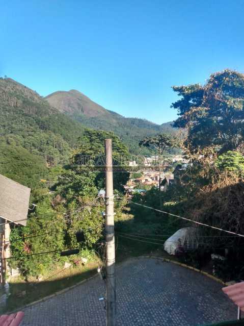 Vista varanda apto 2 piso - Casa à venda Rua da Graça,Olaria, Nova Friburgo - R$ 609.000 - GICA50010 - 4