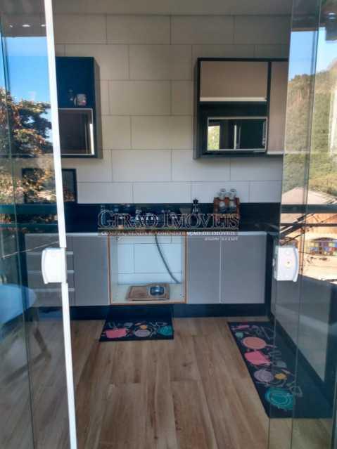 Cozinha apto 2 piso - Casa à venda Rua da Graça,Olaria, Nova Friburgo - R$ 609.000 - GICA50010 - 6