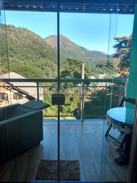 Vista varanda apto 2 piso - Casa à venda Rua da Graça,Olaria, Nova Friburgo - R$ 609.000 - GICA50010 - 1