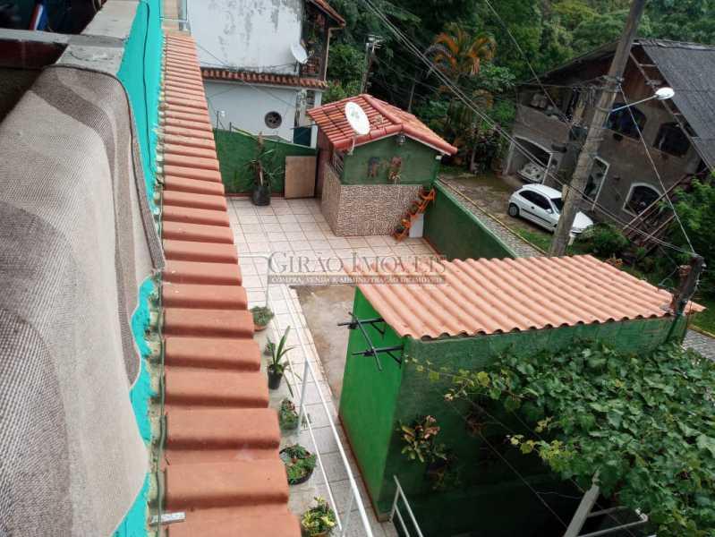 Vista terraço pra casa - Casa à venda Rua da Graça,Olaria, Nova Friburgo - R$ 609.000 - GICA50010 - 13
