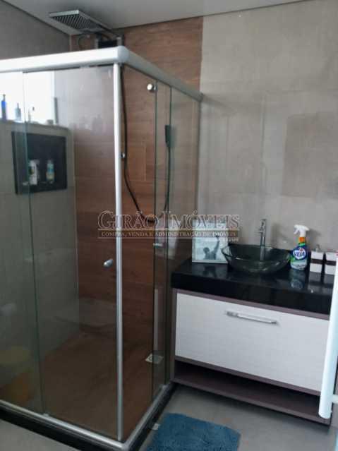 Banheiro apto 2 piso - Casa à venda Rua da Graça,Olaria, Nova Friburgo - R$ 609.000 - GICA50010 - 12