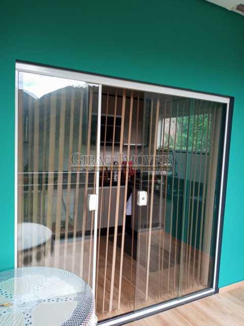 Varanda/Cozinha apto 2 piso - Casa à venda Rua da Graça,Olaria, Nova Friburgo - R$ 609.000 - GICA50010 - 5