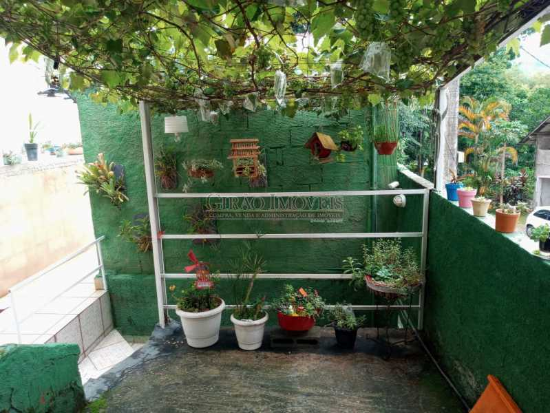 Entrada/Jardim  - Casa à venda Rua da Graça,Olaria, Nova Friburgo - R$ 609.000 - GICA50010 - 16