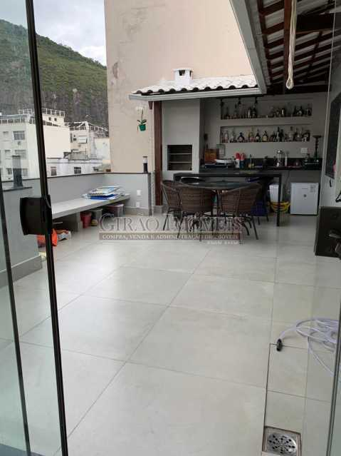Área  gourmet - Cobertura à venda Rua Leopoldo Miguez,Copacabana, Rio de Janeiro - R$ 2.450.000 - GICO40077 - 5