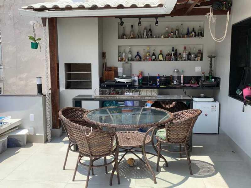 Área  gourmet - Cobertura à venda Rua Leopoldo Miguez,Copacabana, Rio de Janeiro - R$ 2.450.000 - GICO40077 - 6