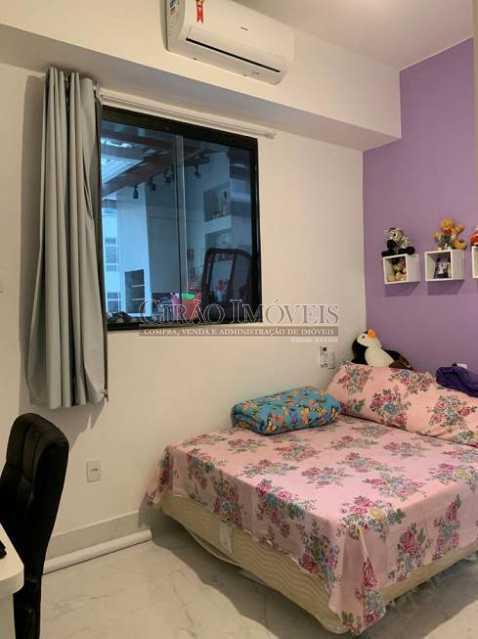 Quarto - Cobertura à venda Rua Leopoldo Miguez,Copacabana, Rio de Janeiro - R$ 2.450.000 - GICO40077 - 23