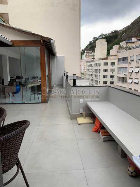 Área  gourmet - Cobertura à venda Rua Leopoldo Miguez,Copacabana, Rio de Janeiro - R$ 2.450.000 - GICO40077 - 3