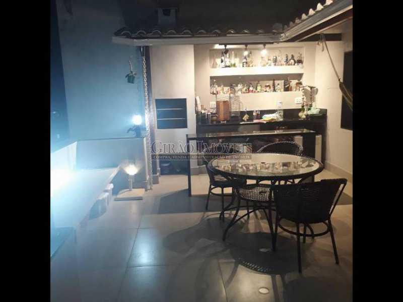 Área gourmet anoite - Cobertura à venda Rua Leopoldo Miguez,Copacabana, Rio de Janeiro - R$ 2.450.000 - GICO40077 - 7
