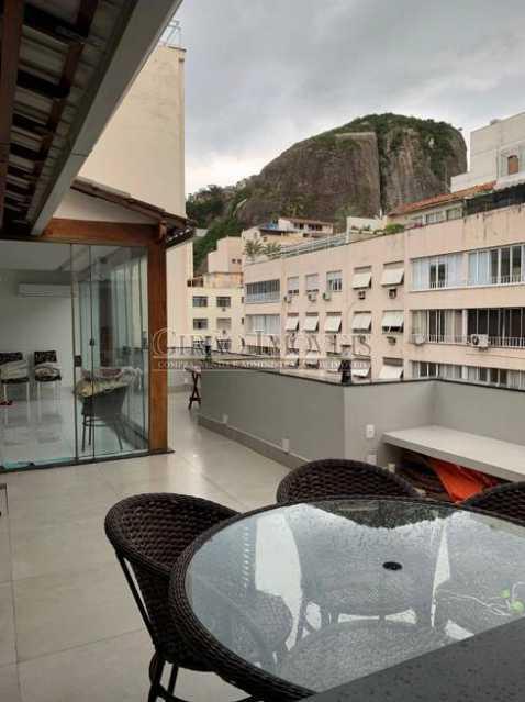 Área gourmet - Cobertura à venda Rua Leopoldo Miguez,Copacabana, Rio de Janeiro - R$ 2.450.000 - GICO40077 - 1