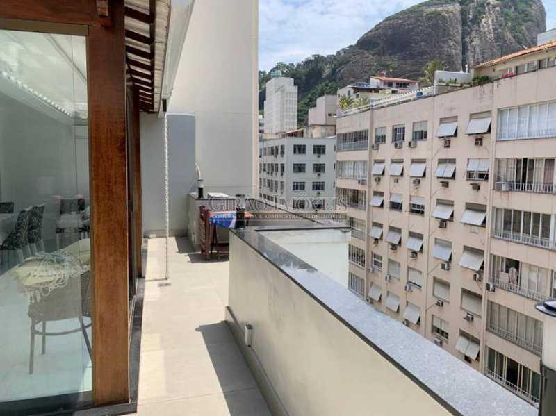 Área  gourmet - Cobertura à venda Rua Leopoldo Miguez,Copacabana, Rio de Janeiro - R$ 2.450.000 - GICO40077 - 4