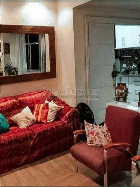 Sala de Estar - Apartamento 3 quartos à venda Laranjeiras, Rio de Janeiro - R$ 980.000 - GIAP31581 - 3