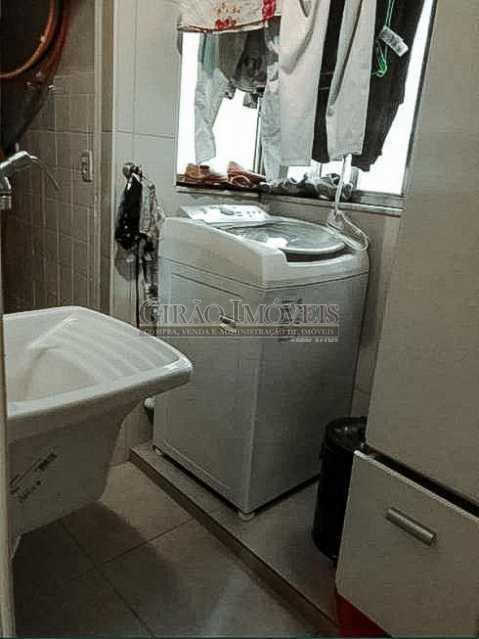 Área de Serviço - Apartamento 3 quartos à venda Laranjeiras, Rio de Janeiro - R$ 980.000 - GIAP31581 - 8