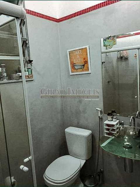 Banheiro Social - Apartamento 3 quartos à venda Laranjeiras, Rio de Janeiro - R$ 980.000 - GIAP31581 - 14